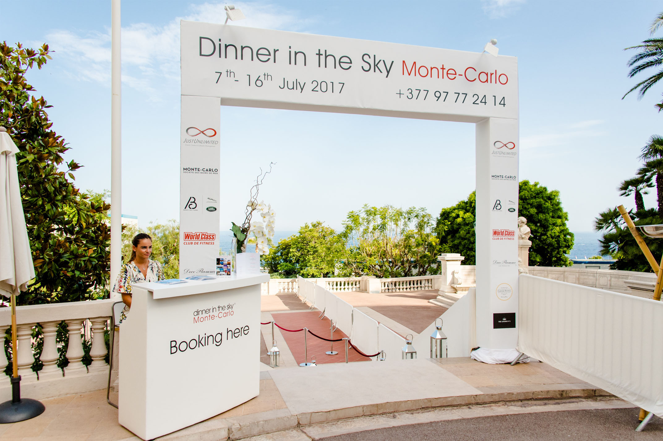 Dinner In The Sky MonteCarlo Welcome - Dinner in the sky an unforgettable experience